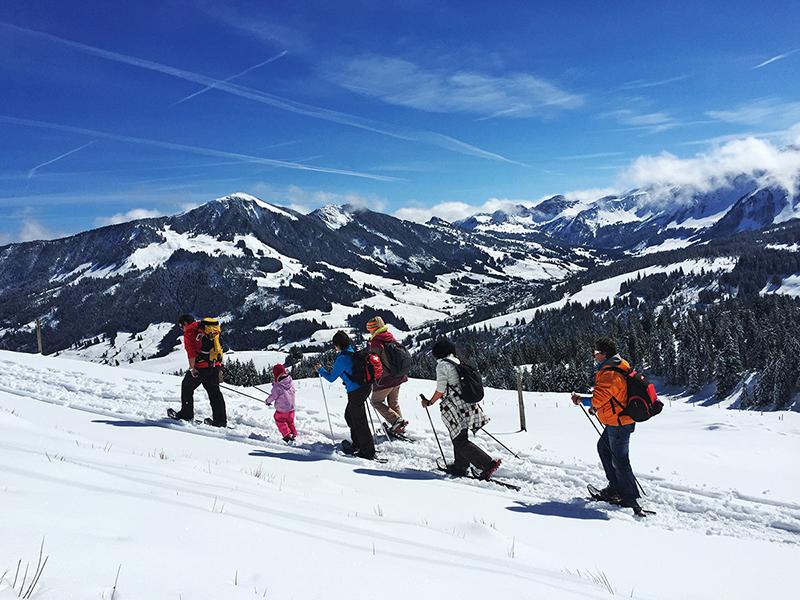 Schneeschuhwandern in Sörenberg