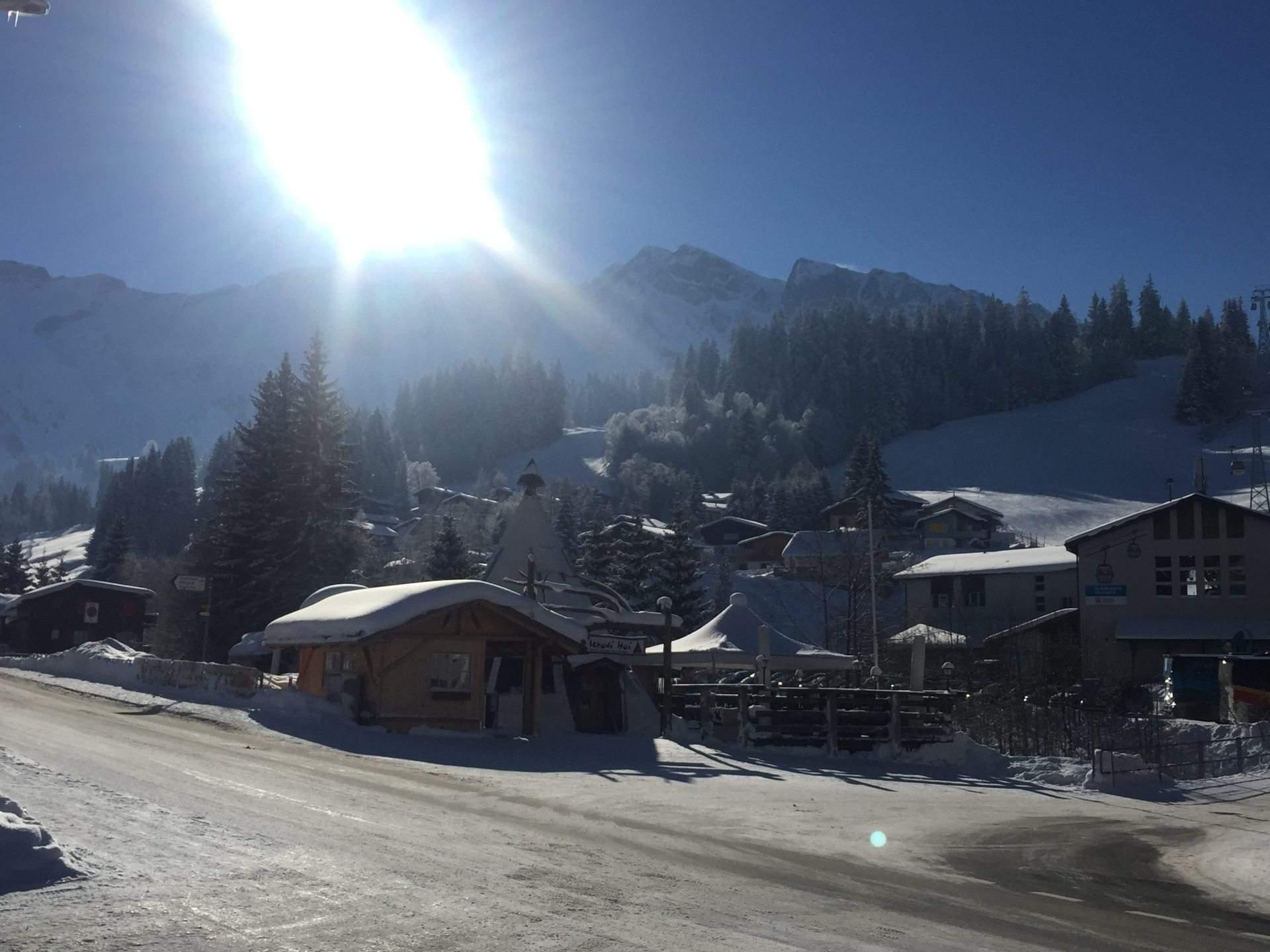 Tschudi Hui Winter Sonne